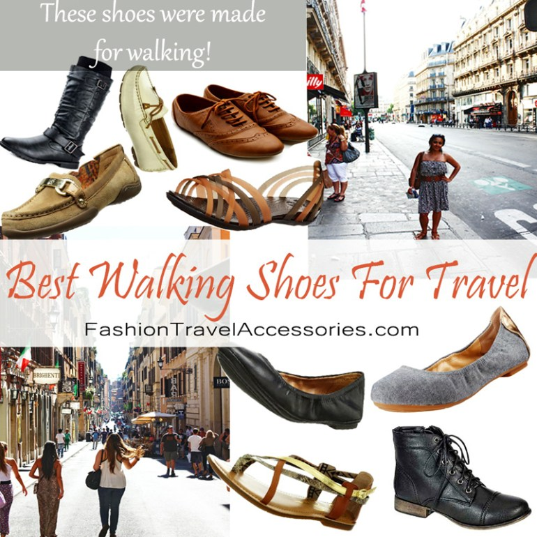 Best walking shoes for travel