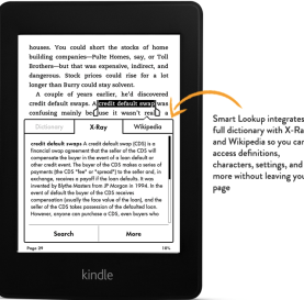 "Kindle Paperwhite, 6"" High-Resolution Display (212 ppi) with Built-in Light, Wi-Fi 3G"