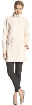 Vince Camuto Women's Wool-Blend Cocoon Coat