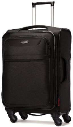 Samsonite Lift Spinner 25  Inch Expandable Wheeled Luggage, Black