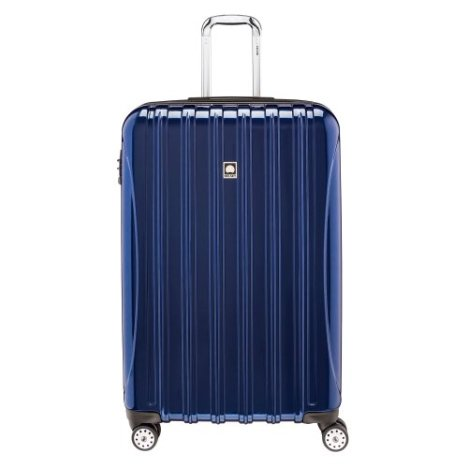 Delsey Luggage Helium Aero 29 Inch Expandable Spinner Trolley, Blue, One Size