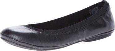 Bandolino Women's Edition Leather Ballet Flat,Black