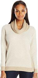3 Spring Cardigan Sweater Paris Calvin Klein Women's Basket-Weave Sweater