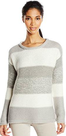 5 Winter Sweater Paris Calvin Klein Jeans Women's Textured Color-Block Sweater