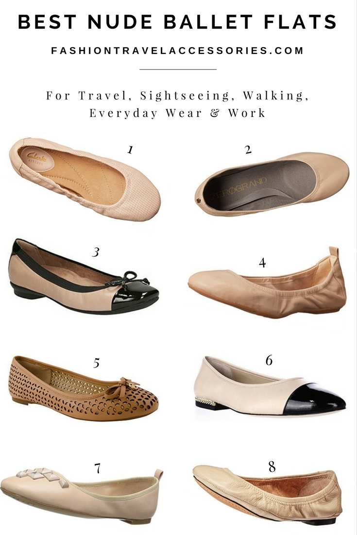 Best Nude Ballet Flats For Travel