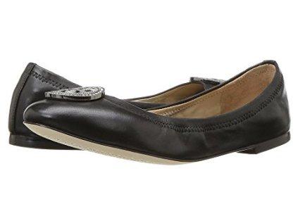 4 Comfortable Walking Shoes Europe Tory Burch Caroline 2 Suede Ballet Flat