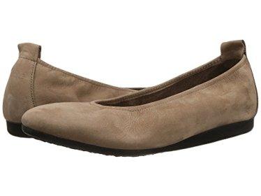 8 Comfortable Walking Shoes Europe Arhce Women's Laius Ballet Flat Taupe