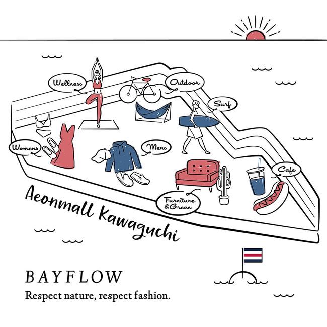 BAYFLOW国内最大級のショップがイオンモール川口に6月8日(火)グランドオープン!