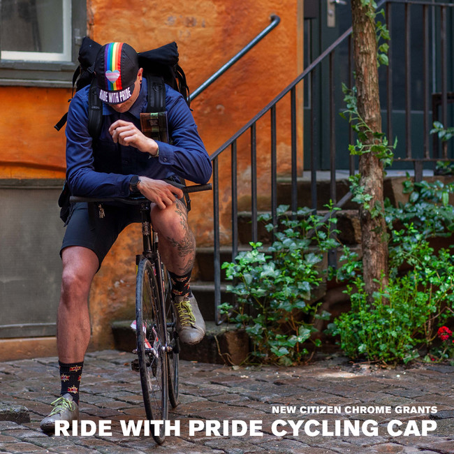 RIDE WITH PRIDE CYCLING CAP