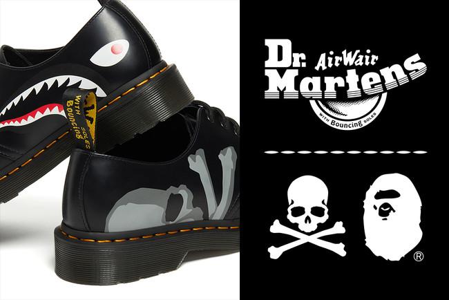 Dr. MARTENS × A BATHING APE® × master mind JAPAN