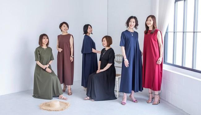 大人女性ブランドEluraが、読者数20万人超えブログ「TOKYO REAL CLOTHES」とのコラボ第2弾<ラク映えワンピース>を発売!