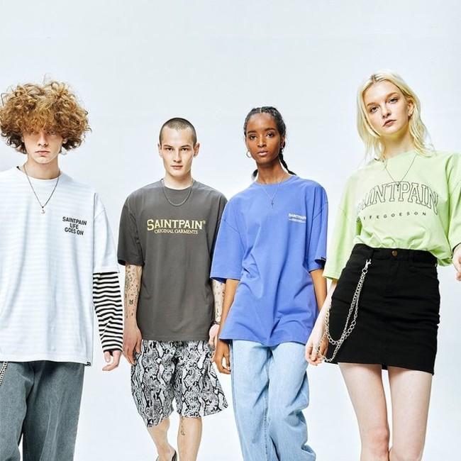 韓国発・BTSらも愛用する話題のストリートブランド「SAINTPAIN」(セイントペイン)が、60%(シックスティーパーセント)への出店を開始