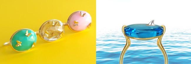 『mika jewellery』が新作ジュエリーを伊勢丹新宿店の期間限定イベントでローンチ