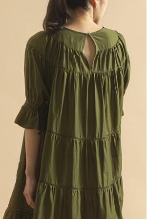 Merletteから日本でしか買えないオリーブカラーの限定ドレス2種が登場