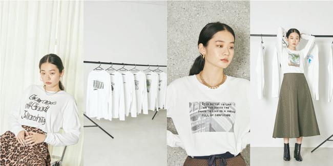 初コラボ!GARAGE OF GOOD CLOTHINGとシブヤフォントのメッセージTシャツ~8月27日から店頭および「STRIPE CLUB」で販売~