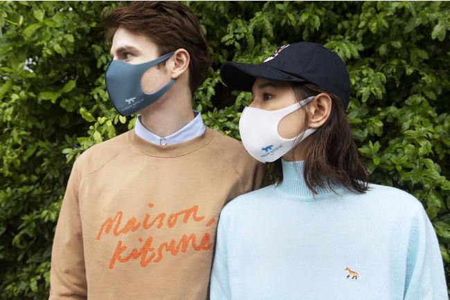 Maison Kitsuné (メゾン キツネ)と PITTA MASK (ピッタ・マスク)がNYFW: The Showsにてコラボレーションマスクを発表