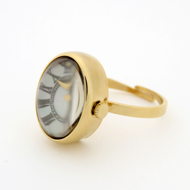 SPICA Oval Ring Watch ¥27,500(税込)