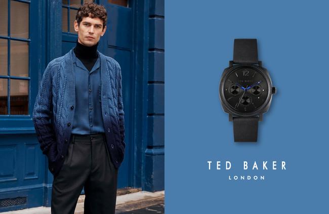 TED BAKER LONDON(テッドベーカーロンドン) の秋冬新作時計『 Caine(ケイン)』が10月20日(水)に発売!エレガントなクッションケースが特徴のメンズコレクション