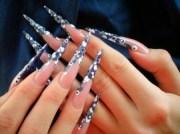 women nail design world fashion