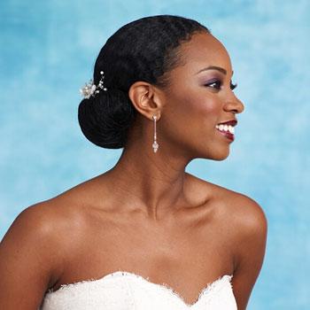 2014 Black African American Wedding Hairstyles Fashion Trend