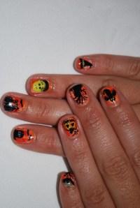 2013 Halloween Nail Art / Nail Polish Ideas