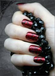 2013 halloween nail art