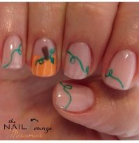 Thanksgiving Nail Art Designs & Ideas