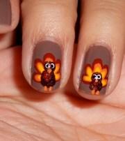 thanksgiving nail art design &