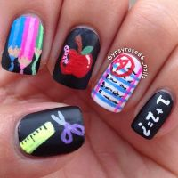 Back To School Nail Art Ideas
