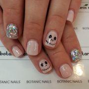 2014 halloween nail design &