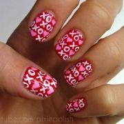 valentine's day nail art & design