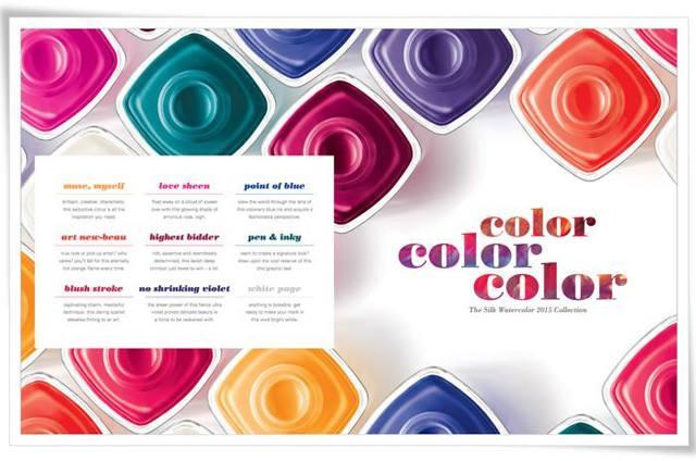 Essie Silk Watercolor Summer 2017 Nail Polish Collection