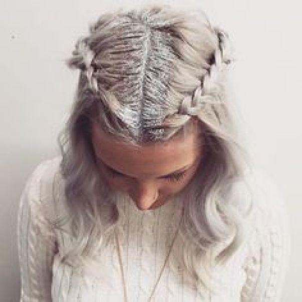 2016 hair trend � glitter roots crazyforus