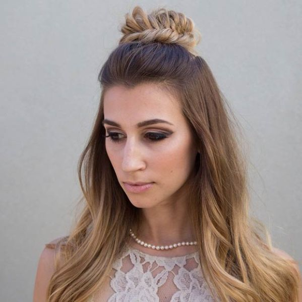 30 Half Up Half Down Hairstyles For Prom Hairstyles Ideas Walk