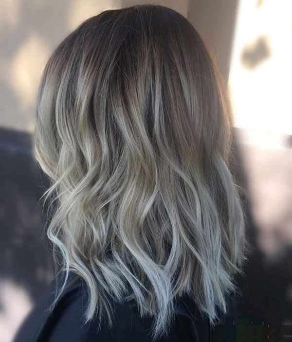 Layered bob waves hairstyle 2021 women