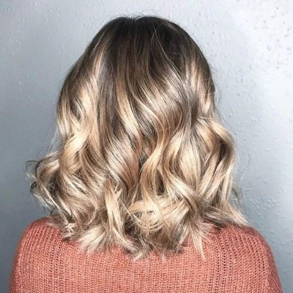 Medium bob hair with ringlets hairstyles women 2021