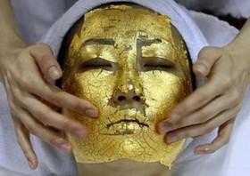 UMO 24k gold facial