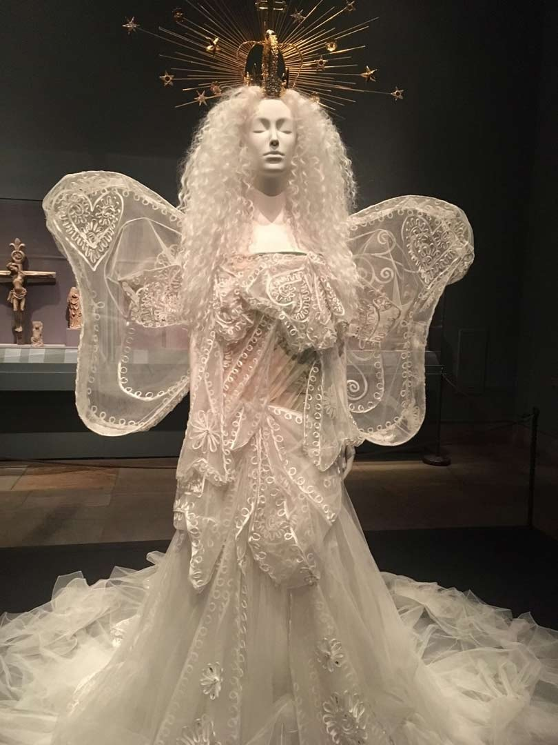 In Pictures Heavenly Bodies Fashion and the Catholic Imagination
