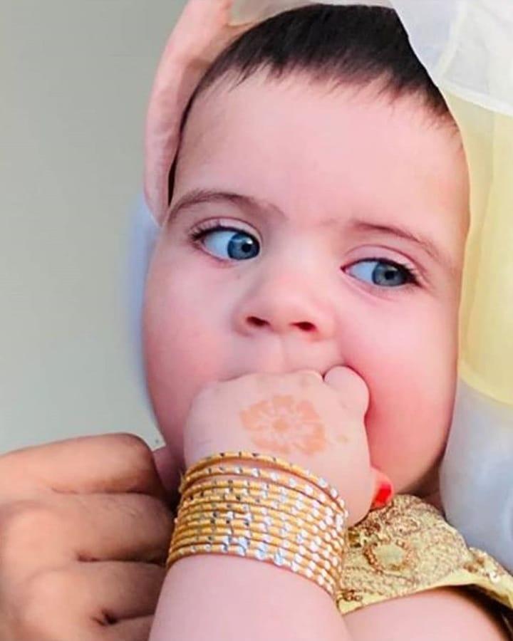 Aiman Baby Pics : aiman, Latest, Beautiful, Pictures, Aiman, Muneeb, Daughter, Pakistani, Drama, Celebrities
