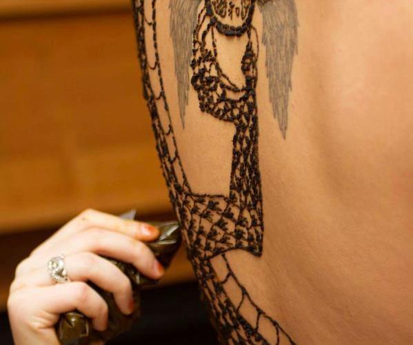 Latest Full Body Henna Tattos Designs In 2015