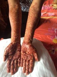 Beautiful Full Hand Feet Mehndi Designs For Events 2015 2