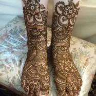 Beautiful Full Hand Feet Mehndi Designs For Events 2015 6