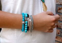 New Styles Of Casual Bracelets Made From Turquoise 2015 13