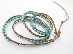 New Styles Of Casual Bracelets Made From Turquoise 2015 5