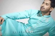 Eid Kurta Designs For Men By Wajahat Mansoor 2015 6