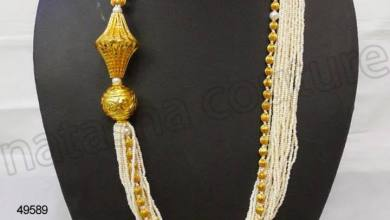 Indian Bridal Necklace Designs By Natasha Couture Jewelry 2015