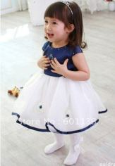 Little Girls Stylish Party Wear Dresses Pics Of 2015 8