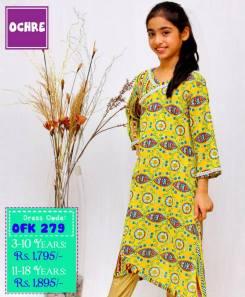 Summer Eid Kids Wear Dresses By Ochre 2015 20