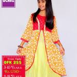 Summer Eid Kids Wear Dresses By Ochre 2015 3