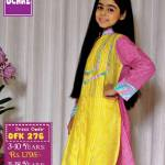 Summer Eid Kids Wear Dresses By Ochre 2015 4